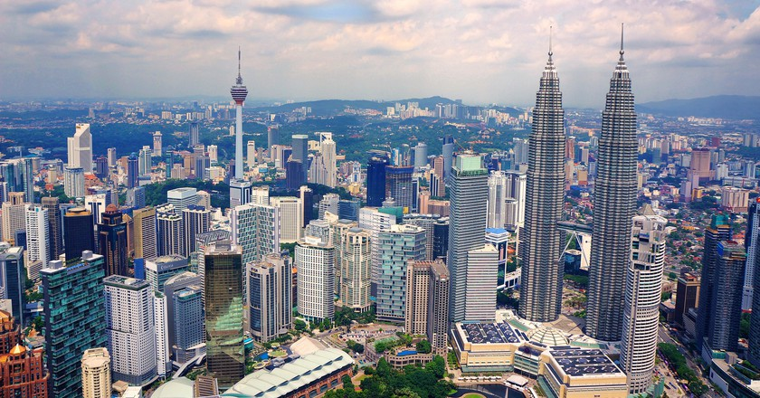Kuala Lumpur's Skyline |© Pixabay