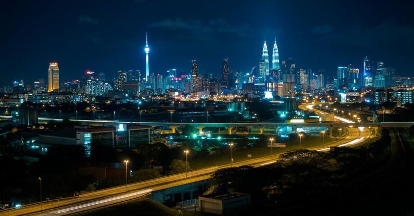Kuala Lumpur at night  © i.gunawan/Flickr