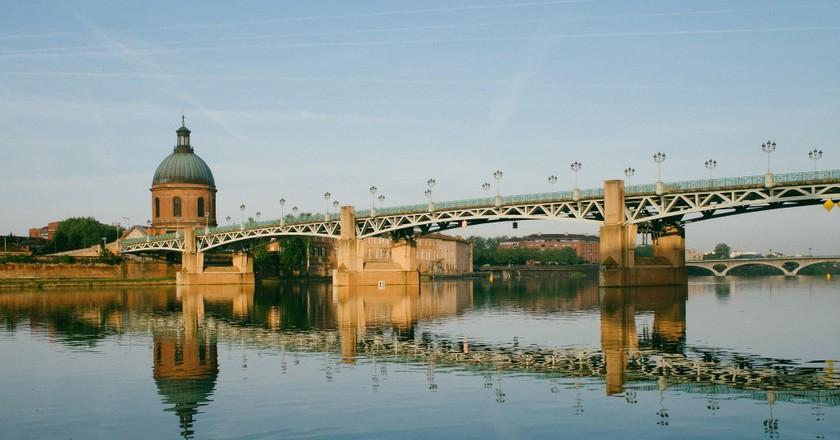 Vue sur la Garonne,  Toulouse © Maxime Raphael