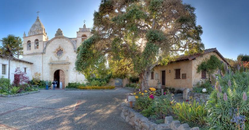 Carmel Mission Panorama - Carmel, CA