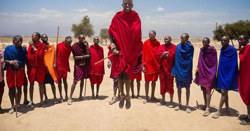 Masai Village | © rcrhee/WikiCommons
