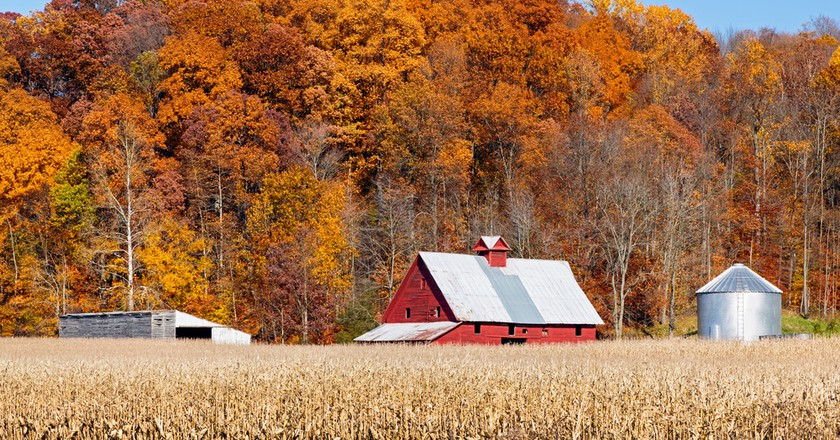 Fall colors in Putnam country, NY | © Kenneth Keifer/Shutterstock