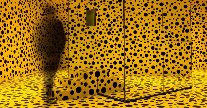 Yayoi Kusama exhibition at Louisiana Museum, Denmark | © Kristoffer Trolle/Flickr