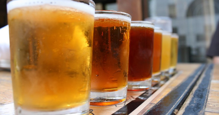 Beer Sampler | ©Quinn Dombrowski/Flickr