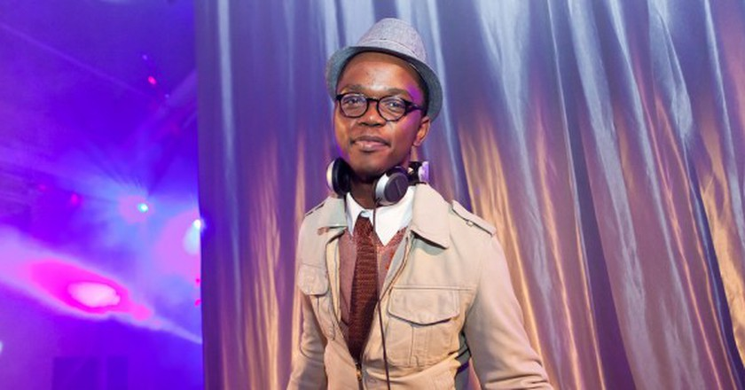 South African DJ Culoe De Song spins some tracks