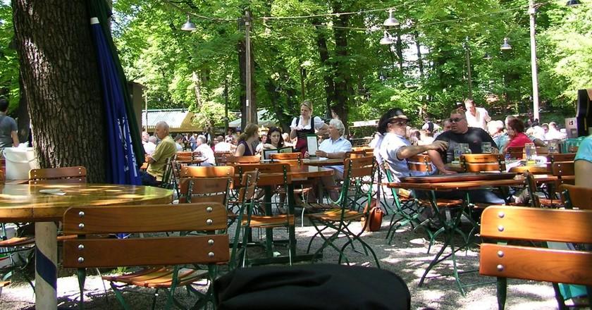 Beer Garden in Munich  © Shivya Nath/Flickr