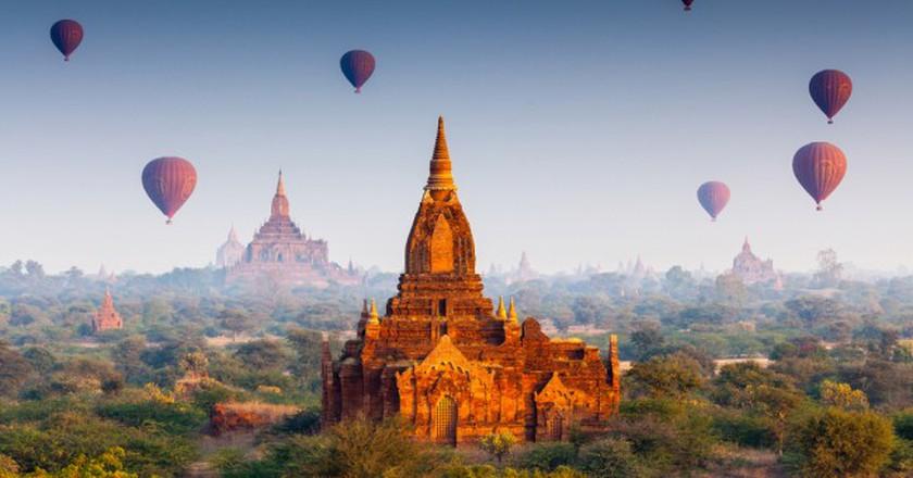 Temples in Bagan, Myanmar ©Bule Sky Studio   Shutterstock