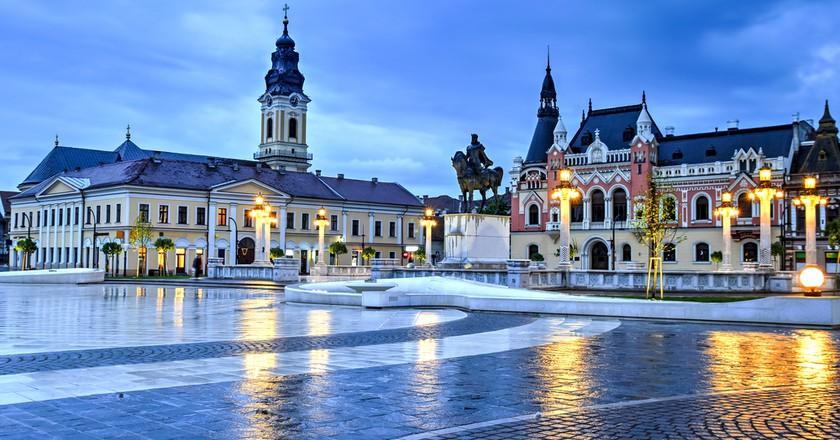 Union Square in Oradea, Romania I ©Catalin Lazar / Shutterstock