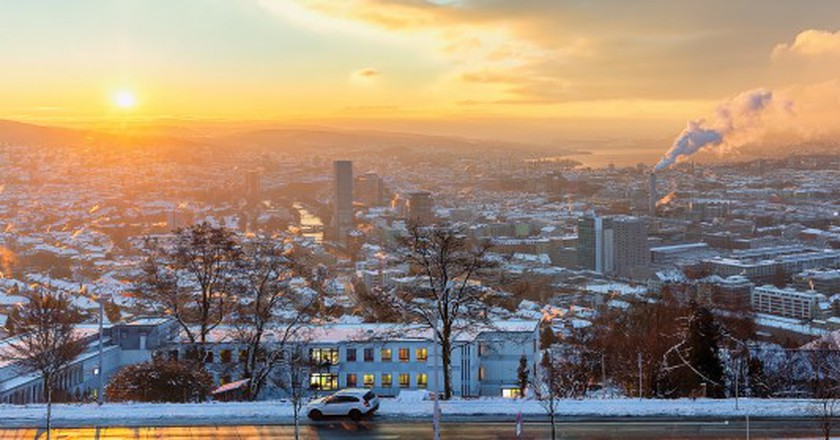 Sunrise Over Zurich | © Lukas Schlagenhauf/Flickr