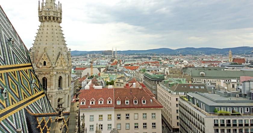 Top of Bell Tower, Vienna   © Dennis Jarvis / Flickr