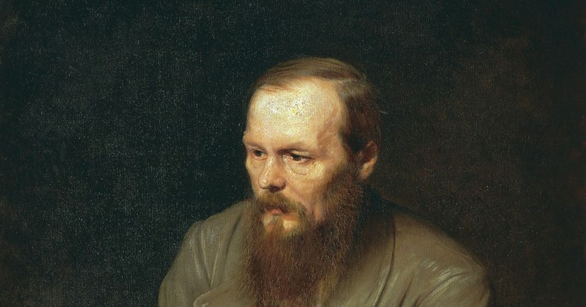 """Portrait of the Writer Fyodor Dostoyevsky"" by Vasily Perov (1872) 