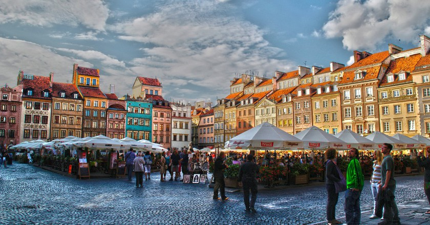 Warsaw, Old Town Square |©Gabriela Fab / Flickr