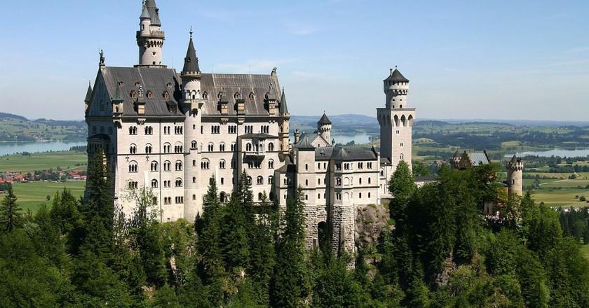 Castle Neuschwanstein   © Softeis/WikiCommons