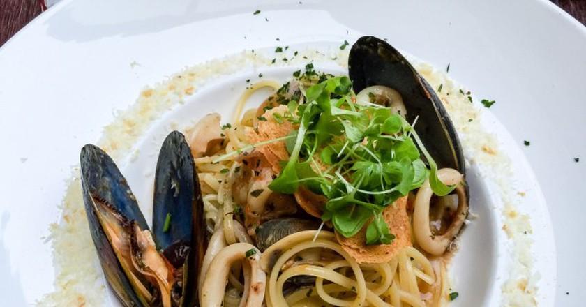 Seafood pasta  ©ultrakml/flickr