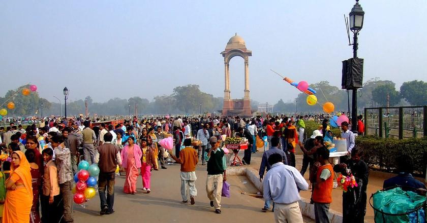 India Gate, Dehli | ©Saturnism/Flickr