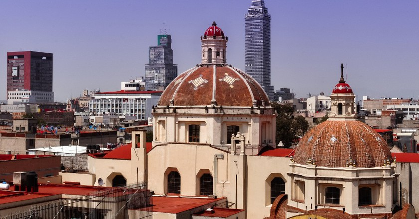A view over the historic centre of Mexico City |© Eneas De Troya/Flickr