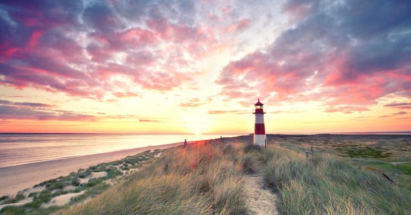 Sylt Lighthouse, Germany | © Jenny Sturm/Shutterstock