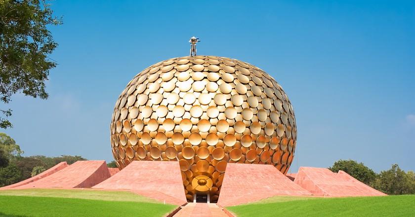 Auroville meditation hall, Pondicherry, India   © Aleksandar Todorovic/Shutterstock
