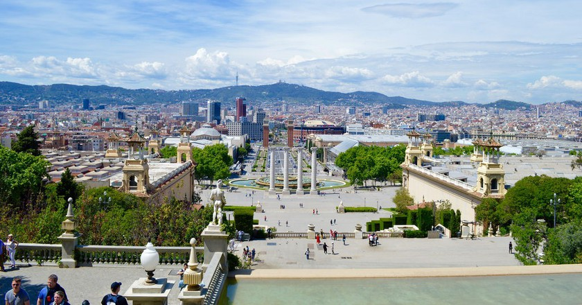 View from Museu Nacional d'Art de Catalunya   © Matthew Robey/Flickr