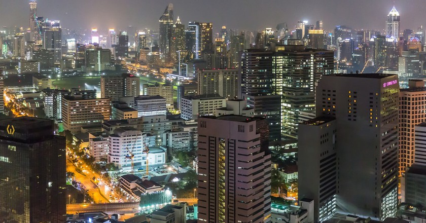 Gleaming skyscrapers of Silom, Bangkok | © Ninara / Flickr