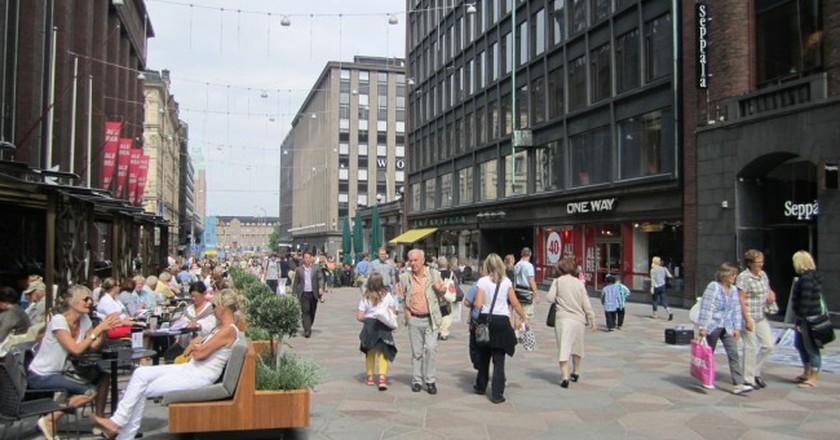 Pedestrian street in Helsinki   © La Citta Vita/Flickr