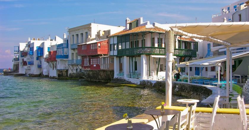 Little Venice, Mykonos   © Julia Maudlin / Flickr