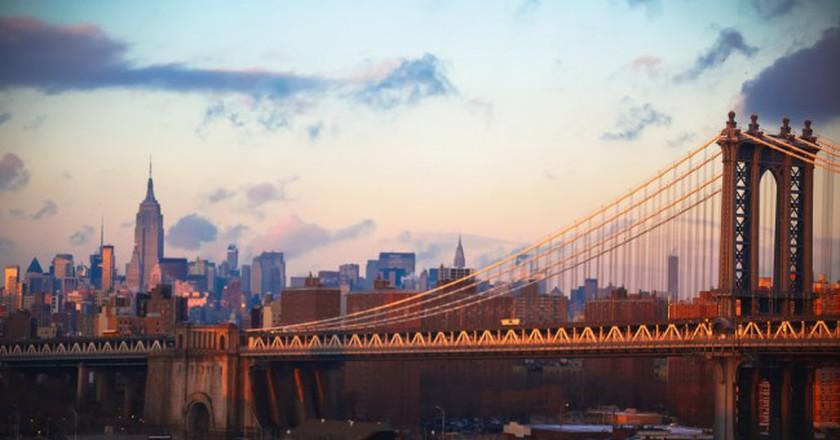 Manhattan Bridge | ©Bradley Weber/Flickr