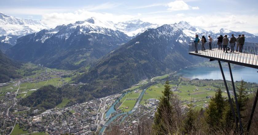 Interlaken Viewing Platform | © Kosala Bandara/Flickr