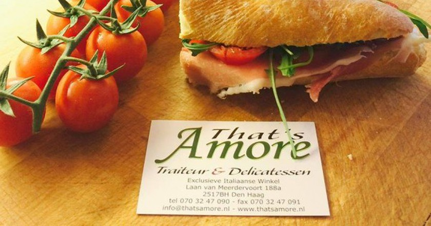 Deli Sandwich / Courtesy of That's Amore
