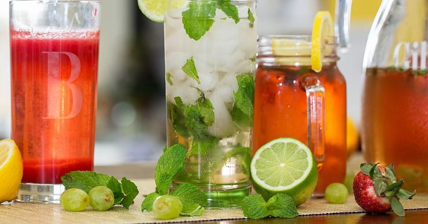 Watermelon Bellini, Green Tea Mojito, Strawberry-Lemon Cocktail © Personal Creations/Flickr