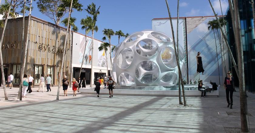 Bulgaru at Miami's Design District   ©Phillip Pessar