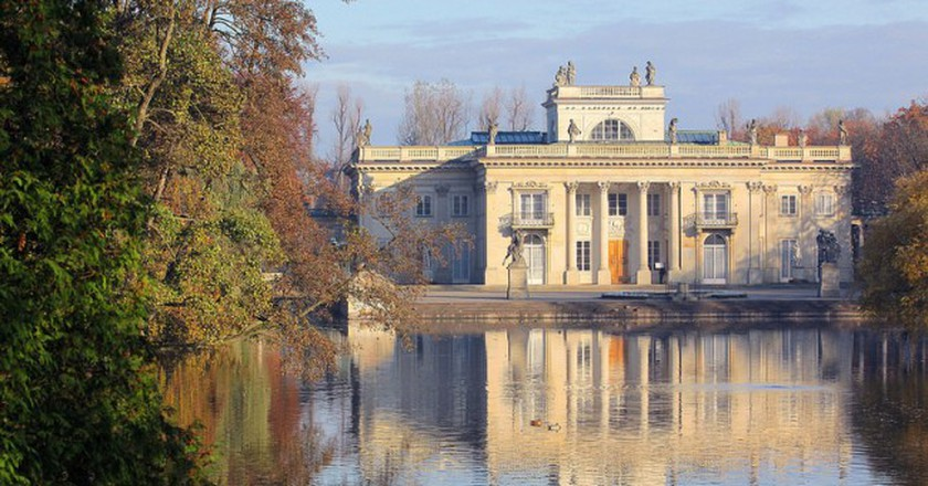 The Palace on the Isle in the Łazienki Królewskie Park   © Ministry of Foreign Affairs of the Republic of Poland/Flickr