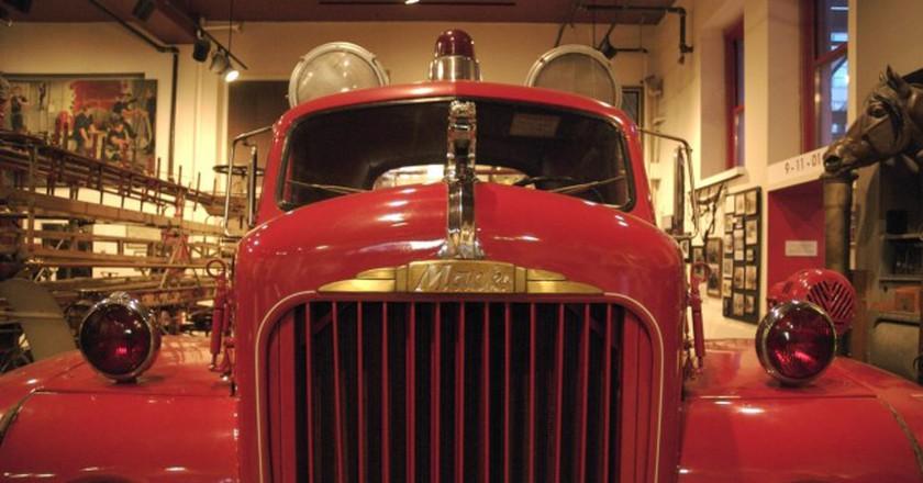 Fire Truck |© Mo Riza/Flickr