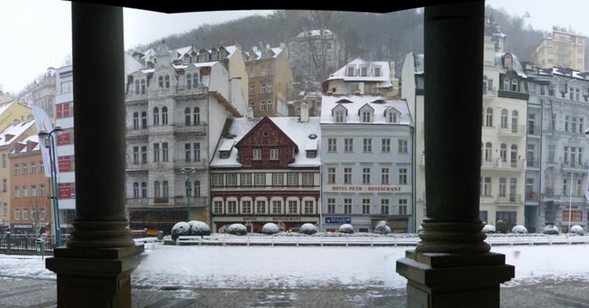 Panorama of Karlovy Vary, Czech Republic | © Nina/Flickr