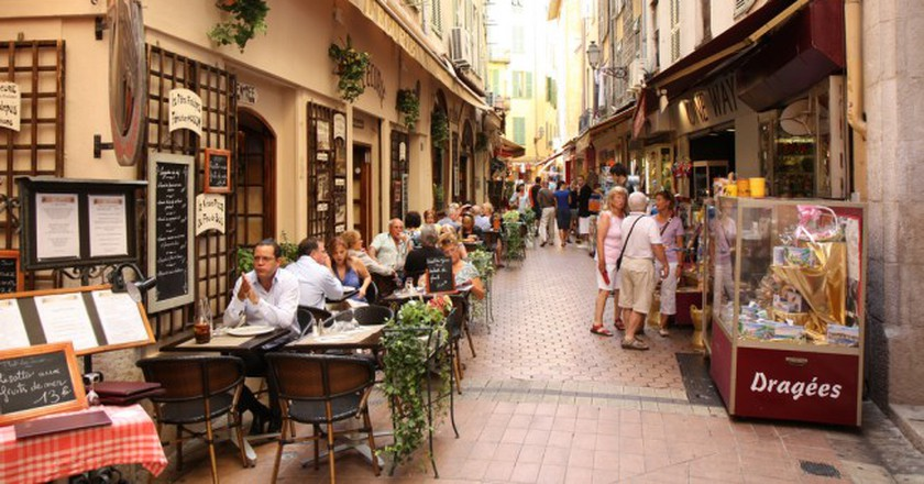 A Street in Vieux Nice   © Olga Khomitsevich/flickr
