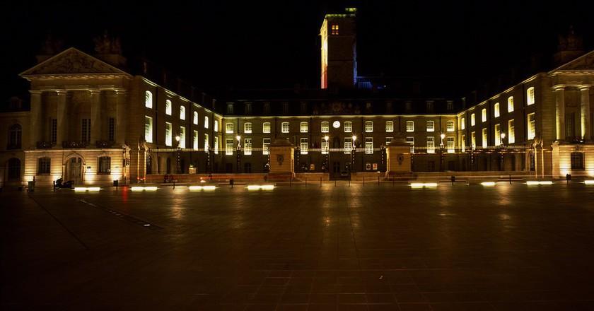 Dijon by Night| ©Patrick Gaillard/Wikicommons