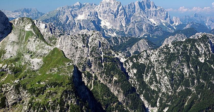 Western Julian Alps | © Matijap/WikiCommons