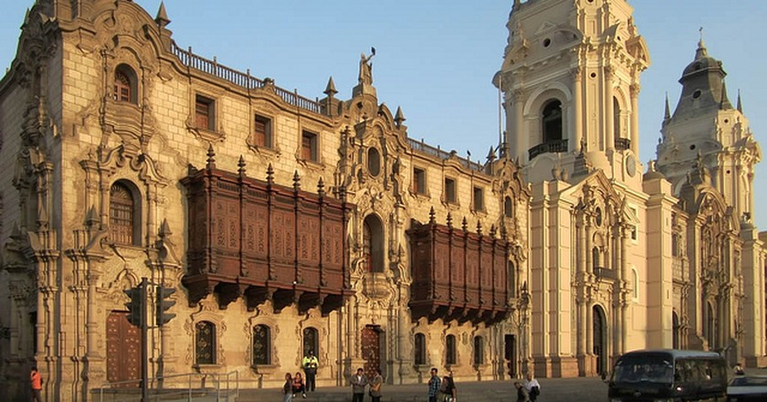 Cathedral of Lima I © David Stanley/Flickr