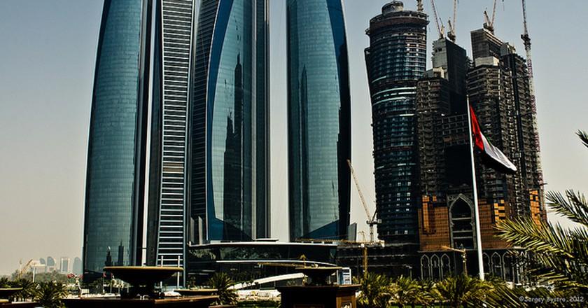Etihad Towers | © SergeBystro/Flickr