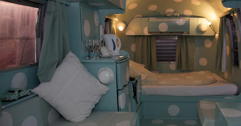 "Inside the Airstream 'Dorothy""   © David Brossard/Flickr"