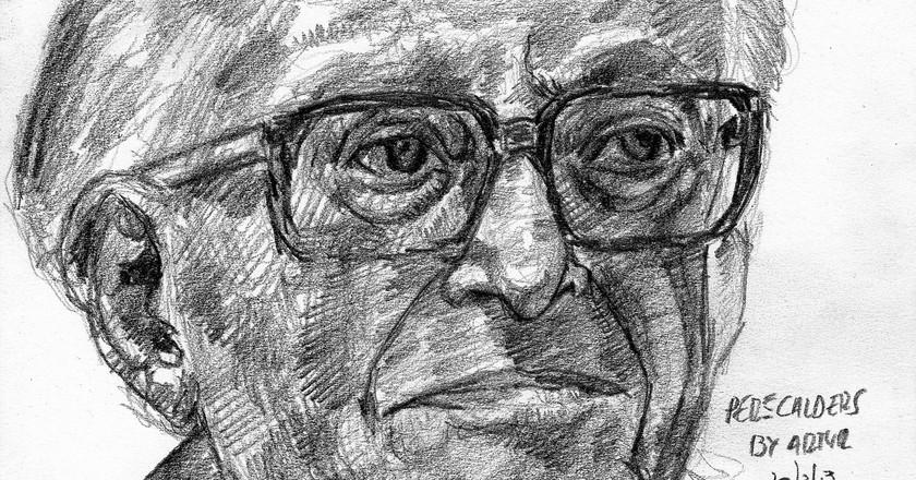 Pere Calders in pencil © Arturo Espinosa/Flickr