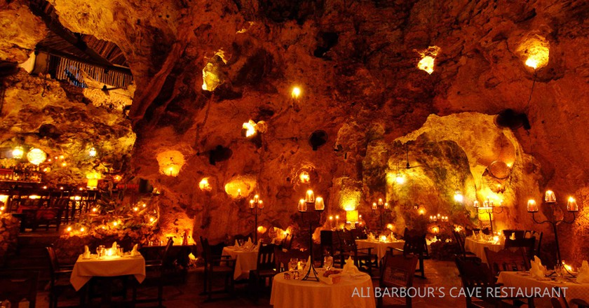 Ali Barbour's Cave Restaurant | © Courtesy of Ali Barbour's Cave Restaurant