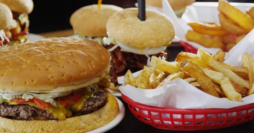 Burger Selection | Courtesy of BJ Stills