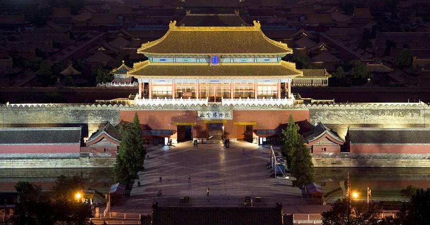 Forbidden City from Jingshan Hill©Dimitry B/Flickr