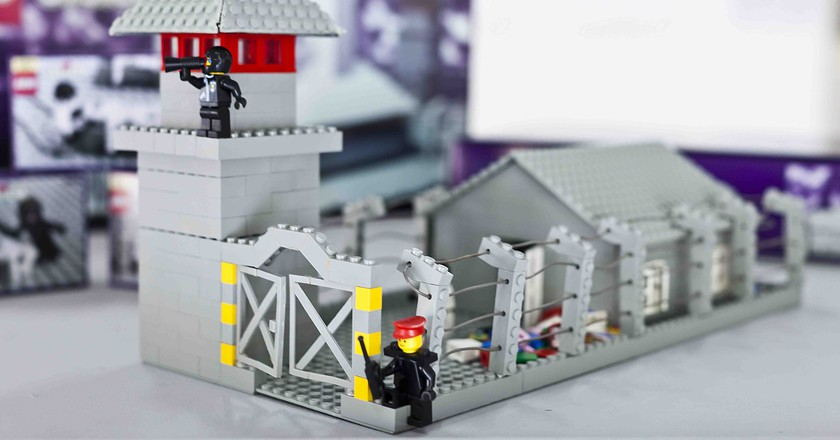 Inside Zbigniew Libera's Controversial Lego Concentration Camp