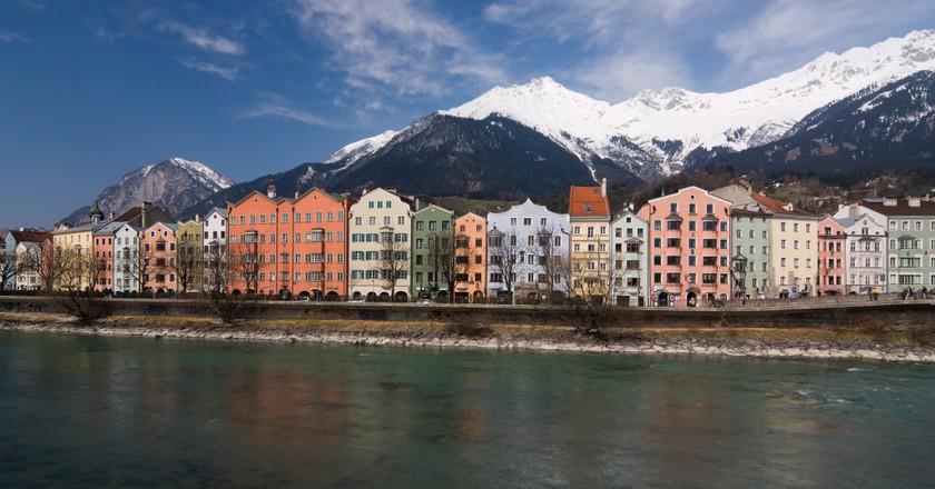Flusspromenade in Innsbruck| ©Ikiwaner/Wikicommons