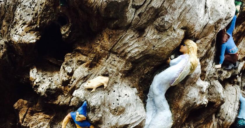 The Curious Statuary Of Kensington Gardens