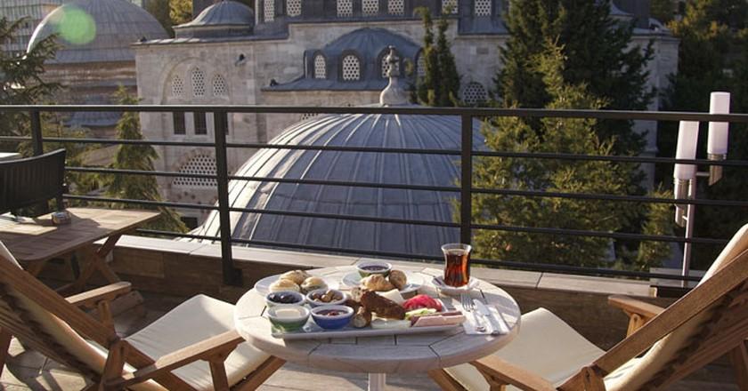 Sahi's rooftop terrace | Courtesy of Sahi