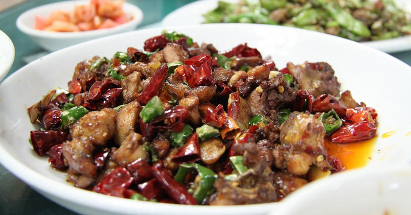 Spicy Sichuan Food | © Matt Ryall/Flickr