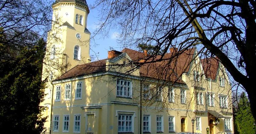 Szeleste, Festetich castle/©Egresij/wikicommons